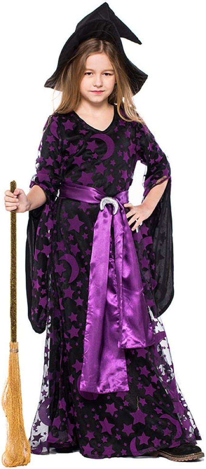 2REMISE Disfraz De Bruja De Halloween para Niños Disfraz De Bruja ...
