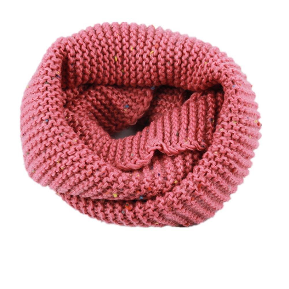 Oto?o invierno c¨¢lido engrosamiento tejer bufanda para ni?os , 7