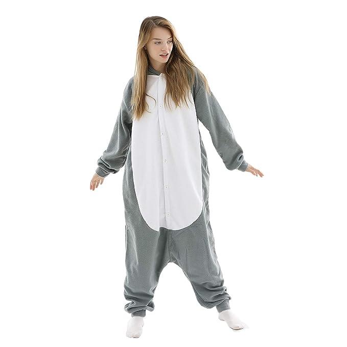 Amazon.com: Rhino Costumes - Pijama para adultos, diseño de ...