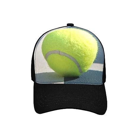 Amazon.com: Gorra de béisbol unisex con patrón de pelota de ...