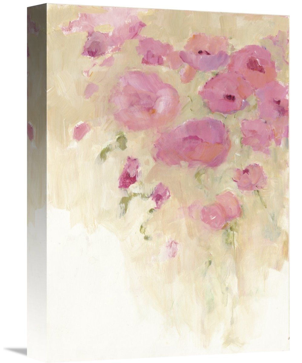 Global GalleryAvery Tillmon Floral Watercolor Giclee Stretched Canvas Artwork 11.36 x 16