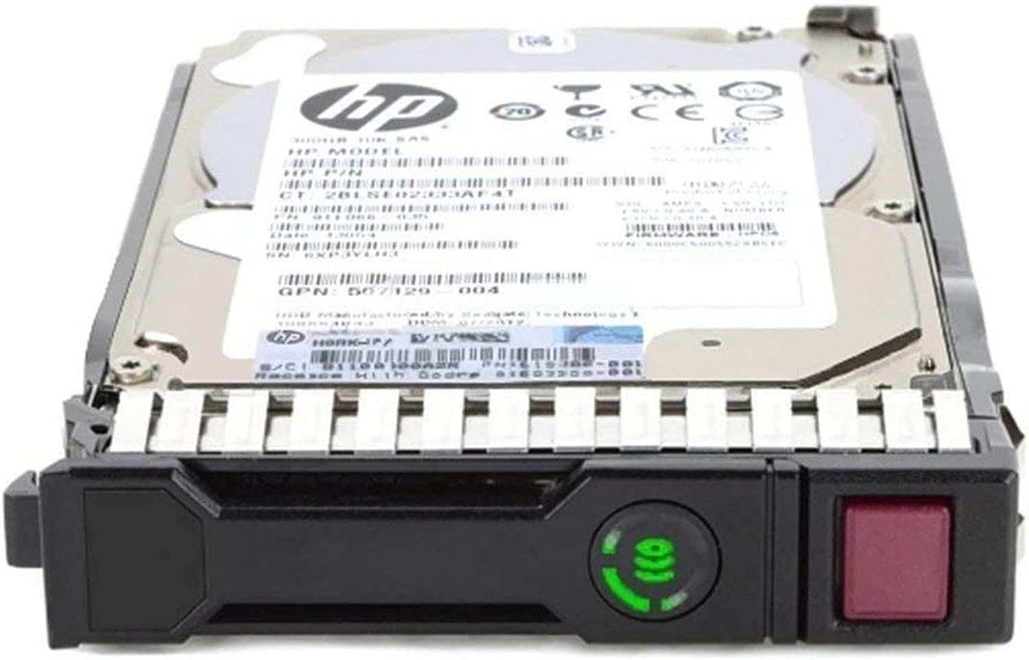 HP 881457-B21 Enterprise - Hard drive - 2.4 TB - hot-swap - 2.5 inch SFF - SAS 12Gb/s - 10000 rpm - with HPE SmartDrive carrier