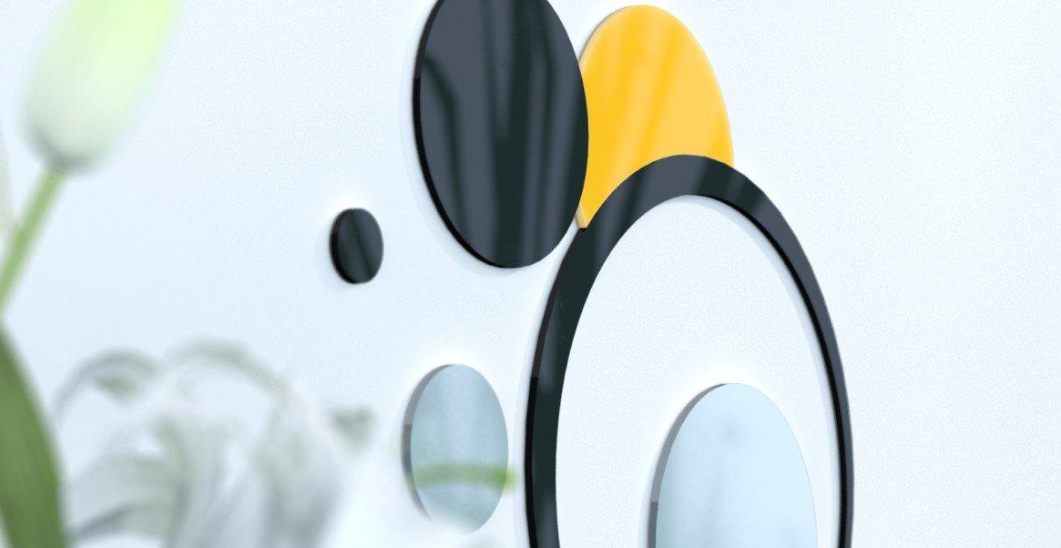 Deko Wand-Wohnzimmer originelle Blaue Ente und grau silber rot   schwarz   grau foncÃeacute; schwarz   grau Silber   Gelb