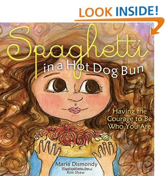 spaghetti in a hot dog bun having the courage to be who you are