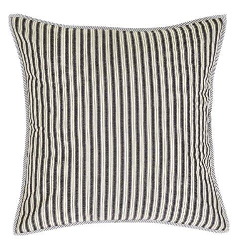 VHC Brands Ashmont Fabric Euro Sham 26x26, 26
