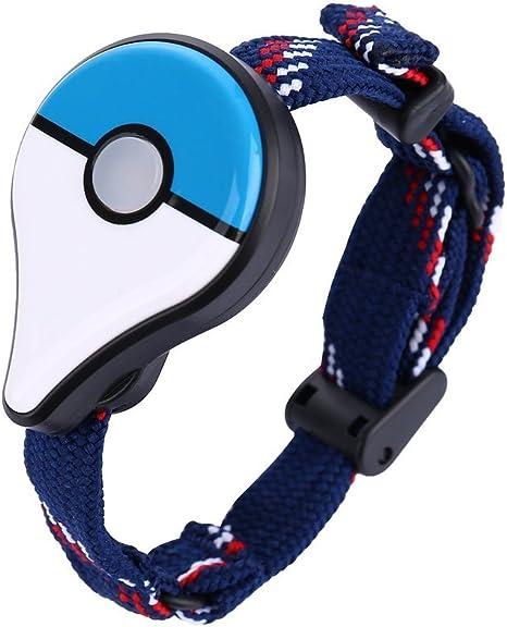 Sookg Pulsera Inteligente Bluetooth para Pokemon GO Plus Muñequera ...