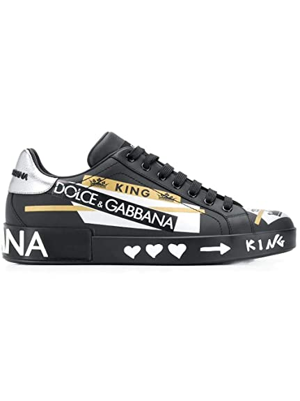 Dolce E Gabbana, Baskets pour Homme Noir Noir EU Noir