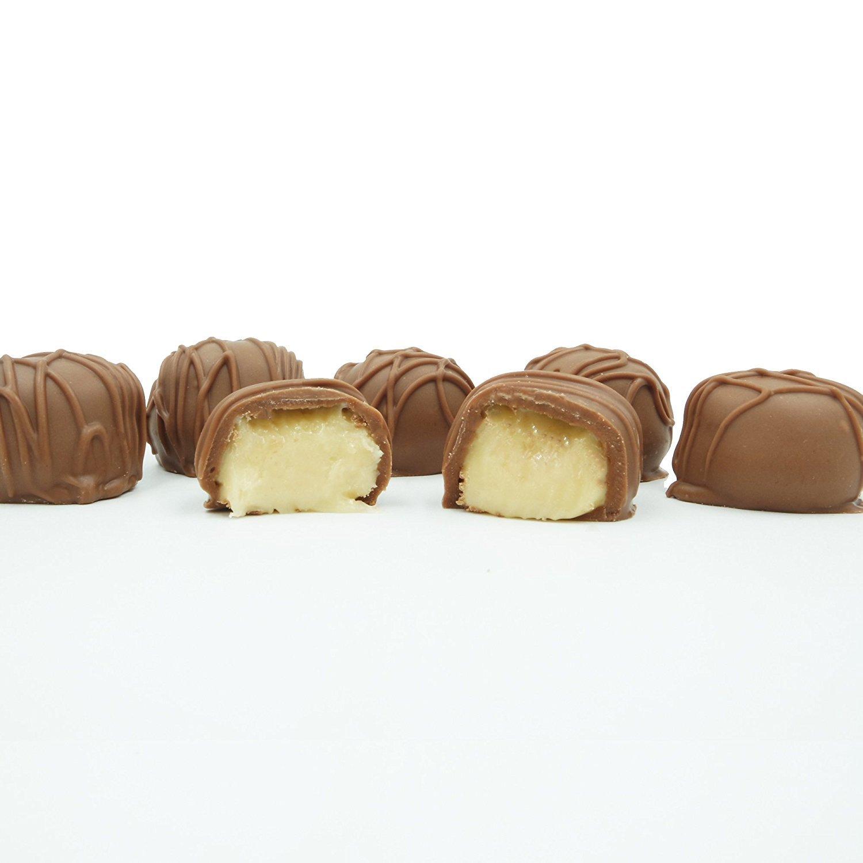 Philadelphia Candies Homemade Butter Creams, Milk Chocolate 1 Pound Gift Box