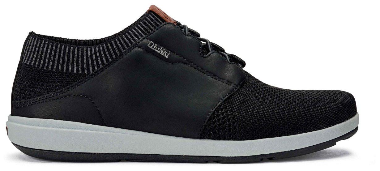 OluKai Makia Ulana Shoe - Men's Black/Black 12