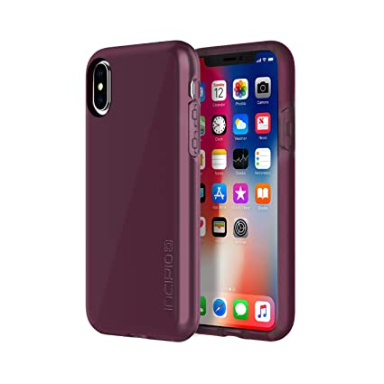 newest 46e35 c10cf Incipio Haven LUX iPhone X Case with Padded Interior and IML Finish for  iPhone X - Merlot