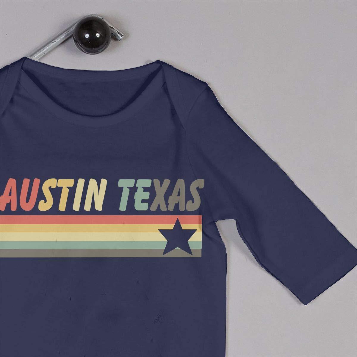 TYLER DEAN Newborn Baby Bodysuits Austin Texas Baby Rompers