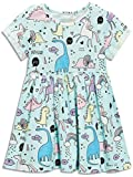 Little Girls Dinosaur Tunic Short Sleeve Summer Casual Dress size 2t(1t-2t)
