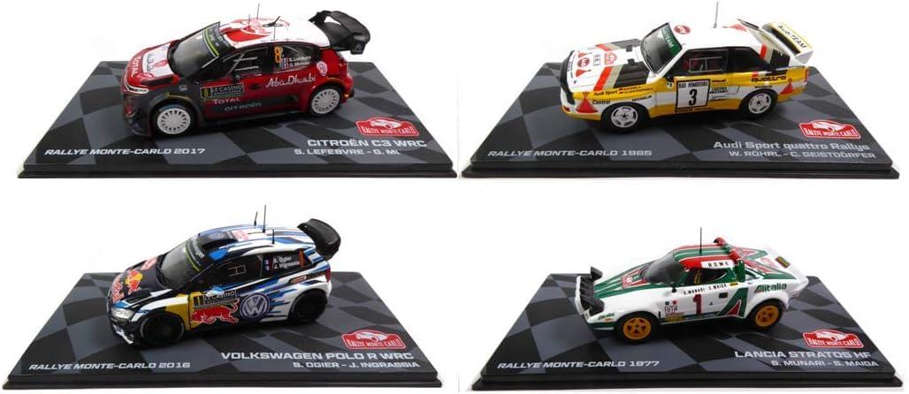 OPO 10 - Lote de 4 Coches de Rally 1/43 Ixo Polo Stratos Quattro ...