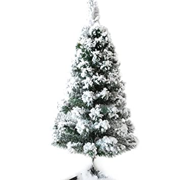 CHICHIC 3ft Mini Christmas Tree Tabletop Christmas Tree Flocked Small Artificial  Christmas Tree Decor 100 Branch - Amazon.com: CHICHIC 3ft Mini Christmas Tree Tabletop Christmas Tree