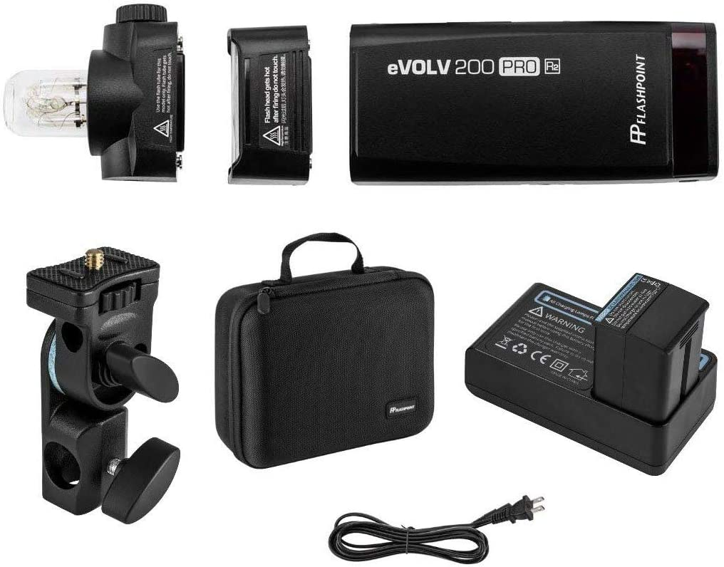 500 Full Power Flashes Godox AD200 Pro 200Ws Flash Strobe Flashpoint eVOLV 200 Pro TTL Pocket Flash 1//8000 HSS Bare Bulb//Speedlite Fresnel Flash Head. 0.01-1.8s Recycling 2900mAh Battery