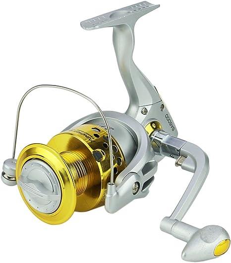 YUMOSH Spinning Carretes De Pesca Con Cuerpo Plástico 5.5:1 ...