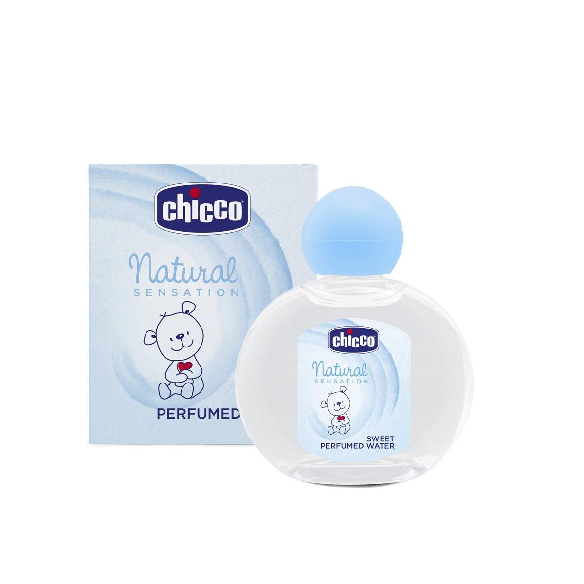 Chicco Natural Sensation - Agua perfumada sin alcohol, 100 ml