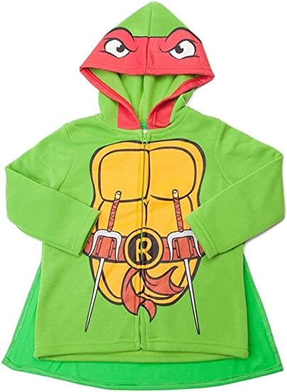 Super Heroes Little Boys Hooded Sweatshirts with Cape Toddler Sizes 2T-4T