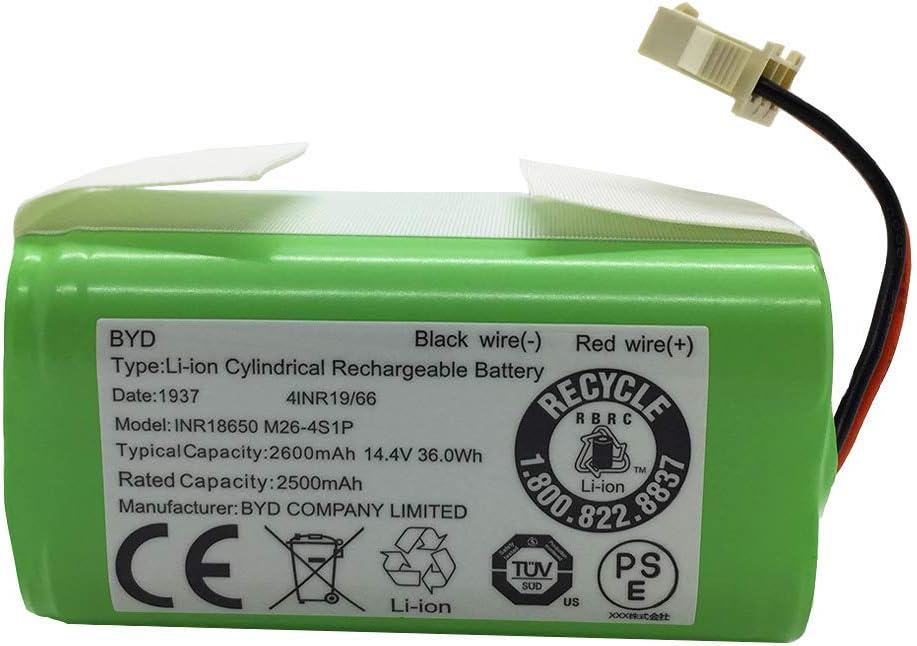 Bateria 2600mAh, 14.4v Deebot N79S, 500, N79 Robot Vacuum