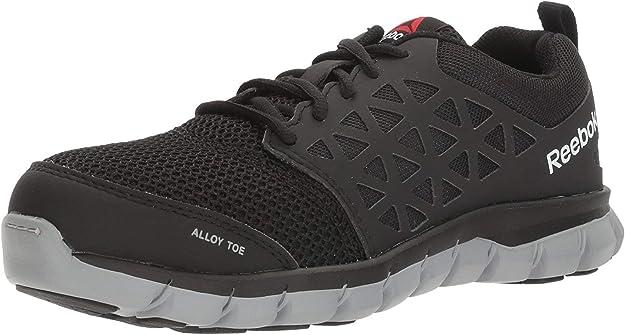 Rechazo el viento es fuerte acuerdo  Amazon.com: Reebok Work Sublite Cushion Work RB041 Women's Alloy Toe  Athletic Work Shoe: Shoes