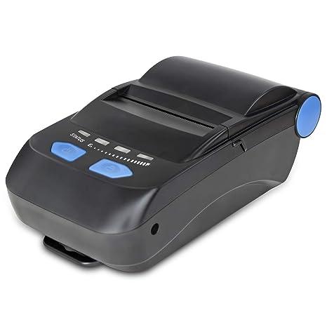 MKLKYY Impresora Térmica Portátil de Recibos Bluetooth ...