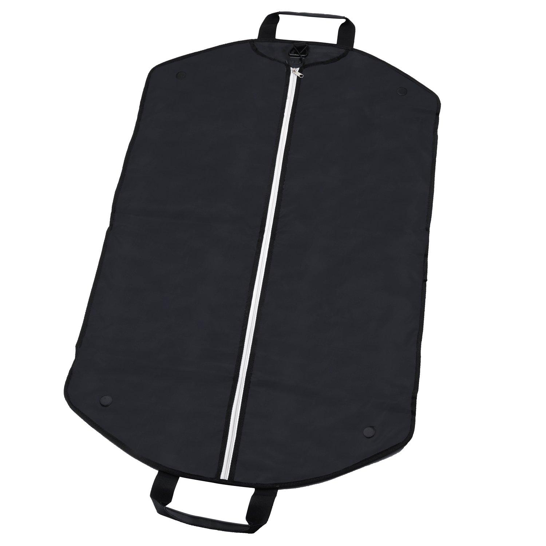 Alpamayo® Business Kleidersack, Kleidertasche für Anzüge und Hemden auf Reise, Anzugtasche zum Transport als Handgepäck, im Koffer oder Trolley, schwarz ALP-GAB3