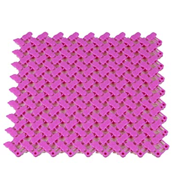 Diy Bad Teppiche Teppich Candy Farben Kunststoff Badezimmer Massage