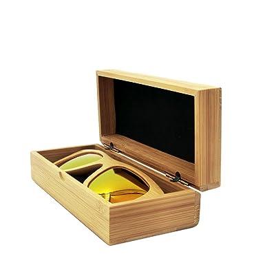 Amazon.com: Estuche para anteojos de sol, lentes caja de ...