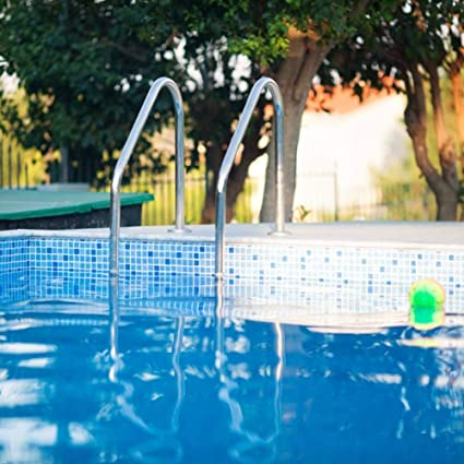 Amazon.com : FRITHJILL Swimming Pool Ladder, Stainless Steel ...