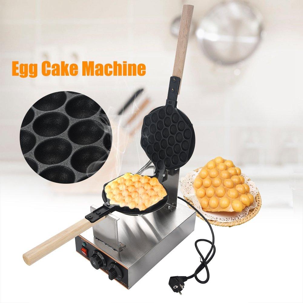 220 V macchina per torta di uova professionale in acciaio inox piastra rivestimento antiaderente teglia per pasticceria GOTOTOP