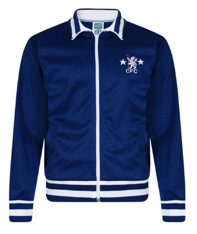 FC Chelsea 1978 Retro Track Jacket Chaqueta de Entrenamiento ...