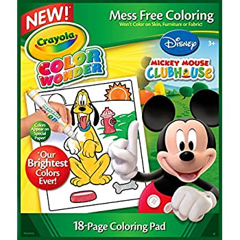 Amazoncom Crayola Color Wonder Drawing Paper 30 Sheets Toys Games
