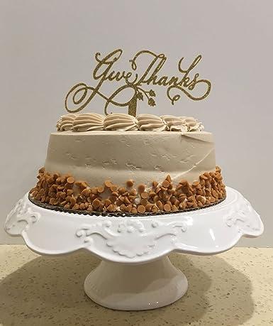 Strange Usa Sales Thanksgiving Cake Topper Give Thanks Thanksgiving Personalised Birthday Cards Veneteletsinfo