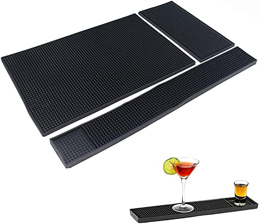 Compra XQ 3 Piezas De Goma Bar Mat Set Profesional Calidad ...