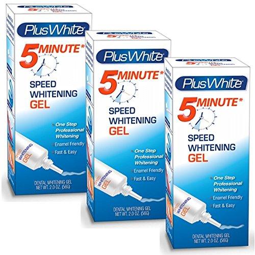 Plus White Premier 5 Minute Speed Whitening Gel (Pack of 3)