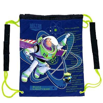 Disney Toy Story Draw String Bag : Buzz Lightyear Bag: Toys & Games [5Bkhe2005589]