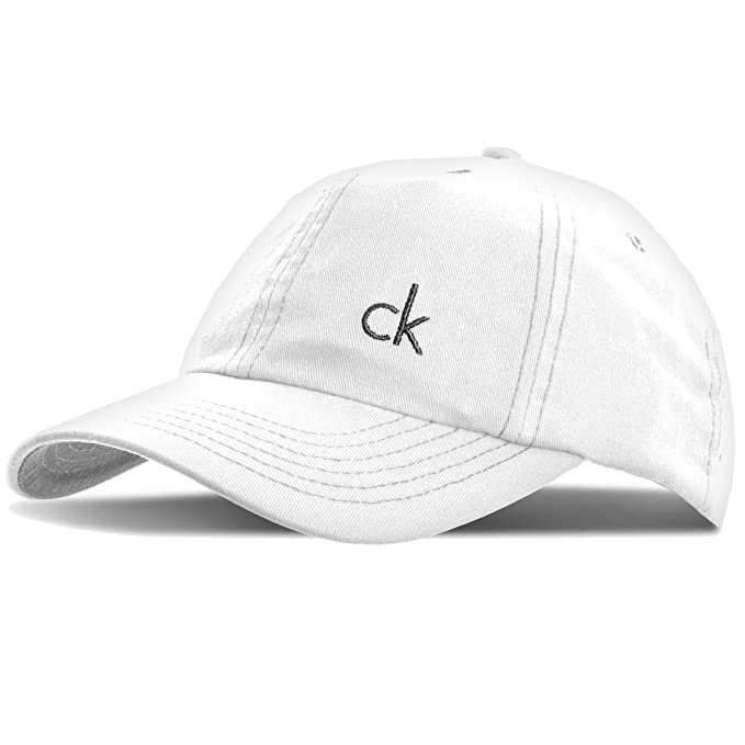 Image Unavailable. Image not available for. Color  Calvin Klein Men s CK  Vintage Twill Baseball Cap ... a56a7efcb996
