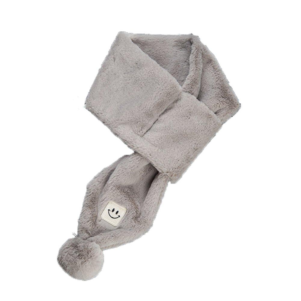 TININNA Sciarpe per Bambini Autunnali e Invernali Calde Carino Spesso Peluche Calde Collare Sciarpa Scaldacollo Sciarpa