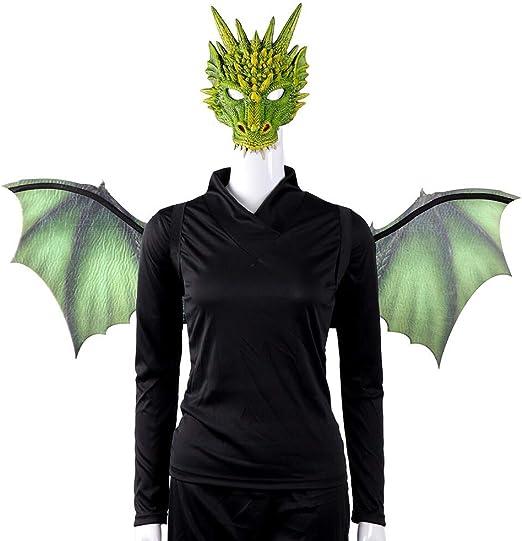 BaronHong Disfraz de dragón Mardi Gras de Halloween de 2 Piezas ...