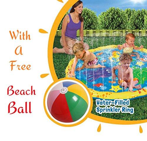 Seller Central 123 Sprinkler Splash Play Mat