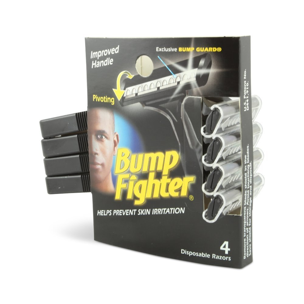 Bump Fighter Mens Disposable Razors Mens, 4 X 4 Packs