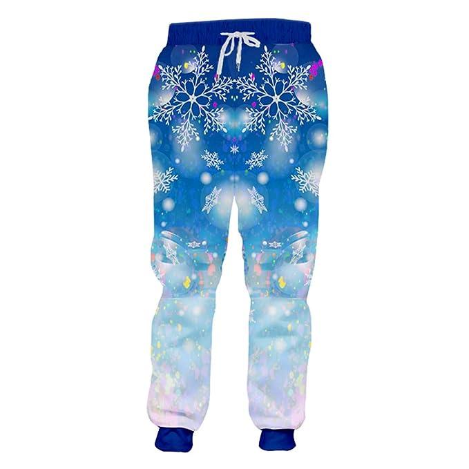 BFP-Tenos Pantalones de chándal de Navidad Hombre Pantalones de ...