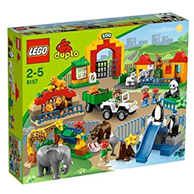 Lego Duplo Big Zoo: Toys & Games