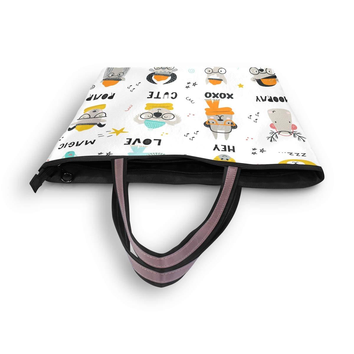Amazon.com: Bolso de mano para mujer con diseño de animales ...