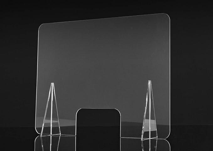 Mampara de Protección | Material Metacrilato | Transparente ...