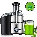 Juicer, Oneisall Juice Extractor 800W Easy to Clean