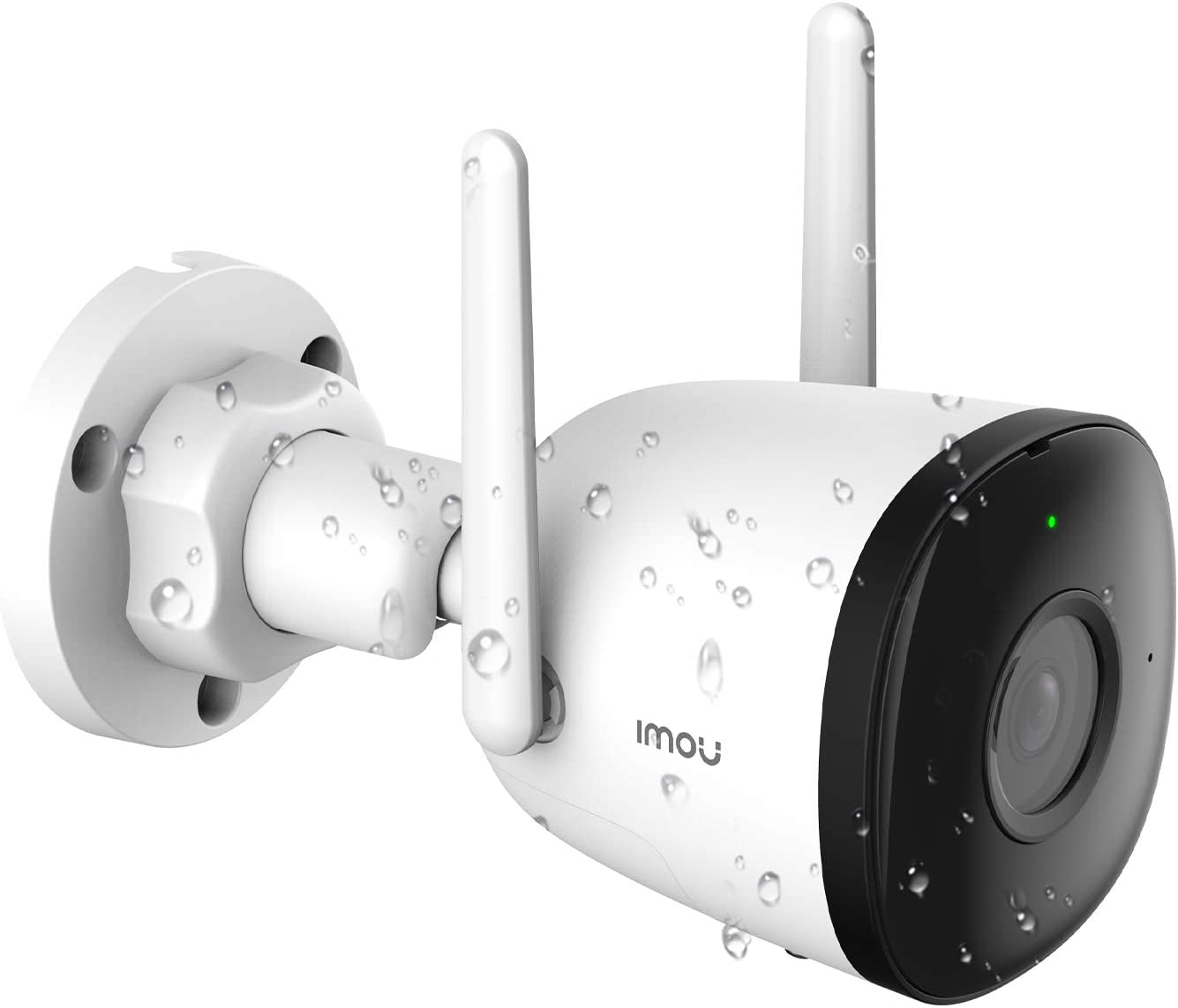 Imou Bullet 2C: 1080p Smart Outdoor Security Camera, Smart Monitoring with Night Vision, AI Human Detection, Weatherproof, Built-in Wi-Fi Hotspot and Cloud Support