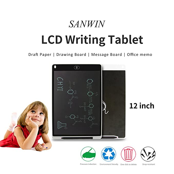 Amazon.com: sanwin eWriter 12 inch Tablet de dibujo/Ultra ...