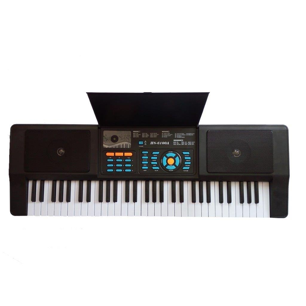 Lightahead Premium Grade 61 Keys Electronic Keyboard Piano Organ Sing Along Microphone Portable Multi-Function All Ages Lightahead® LA-HS-6100A