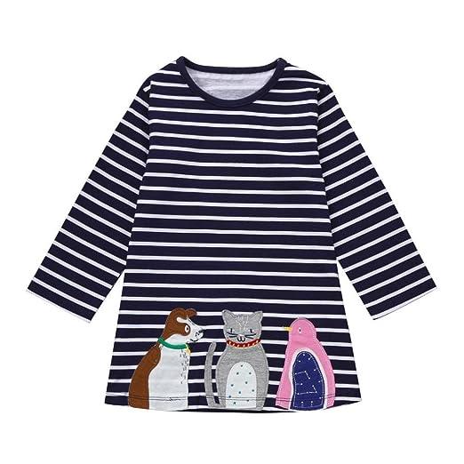 f7dac2980567 Amazon.com  kaifongfu Toddler Dress